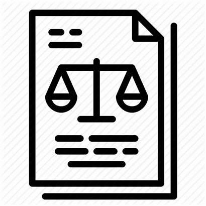 Icon Court Order Legal Judgement Law Document