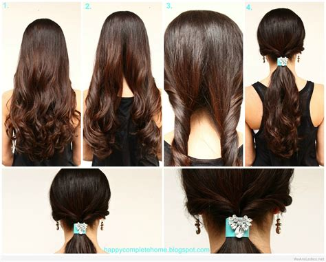 easy diy hairstyles  women