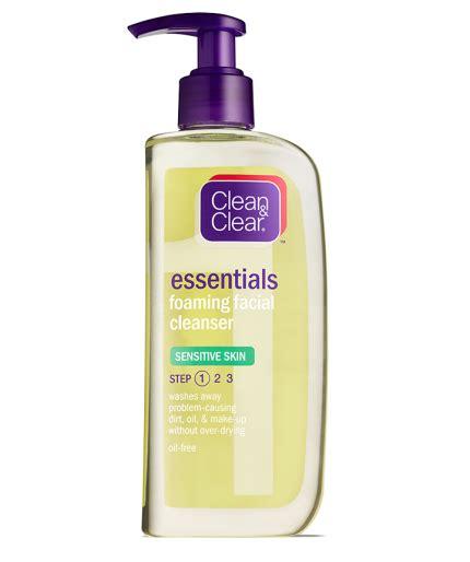 Harga Clean Clear Essentials essentials foaming cleanser sensitive skin clean
