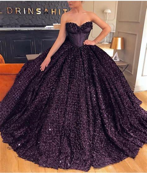bedazzled sugar plum corset ball gown valdrin sahiti