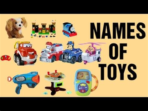 names of toys for different types of toys for 434 | hqdefault