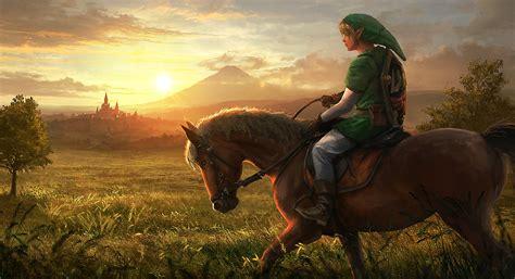 The Legend Of Zelda Inspired Concept Art And Illustrations