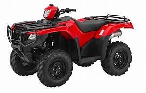 2018 Honda Atvs Unveiled