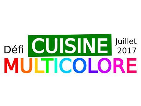 défi cuisine cuisine multicolore