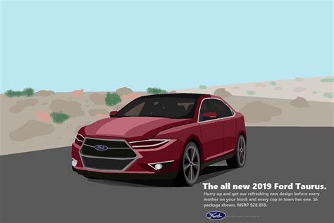 2019 Ford Taurus (ms Paint)