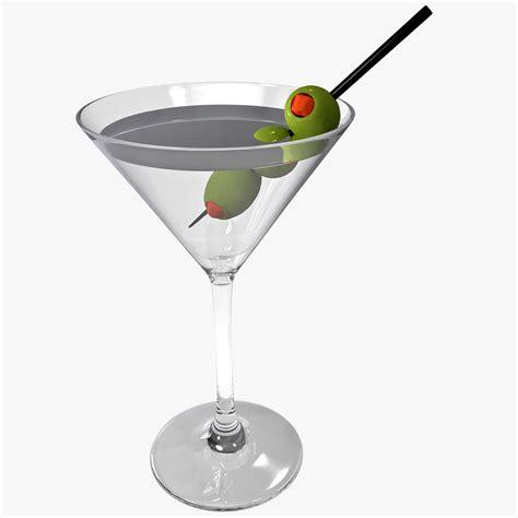 martini olive c4d martini olives
