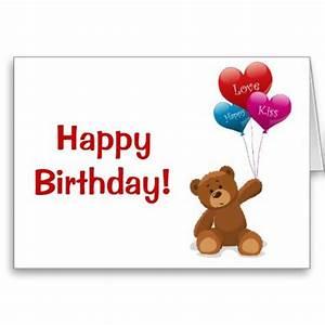 Happy birthday teddy bear, Teddy bears and Greeting card ...