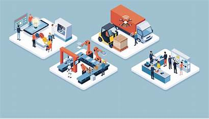 Factory Smart Trends Industry Manufacturing Iot Complete