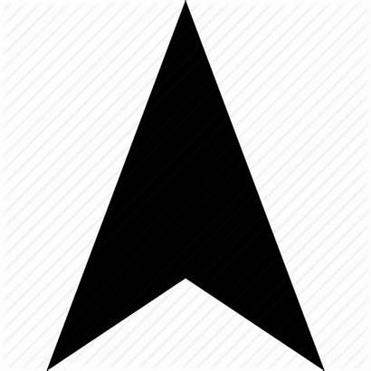 Arrow North Direction Icon Pointer Gps Location