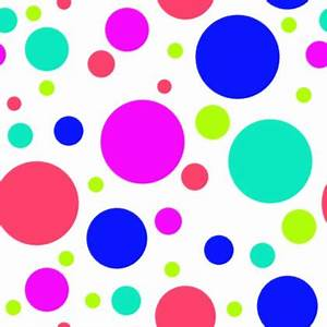 Multi Colored Dots On White Background Seamless Background ...