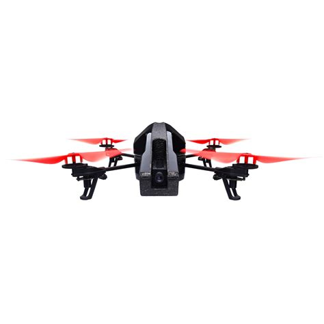 parrot ardrone  quadcopter power edition red pf bh