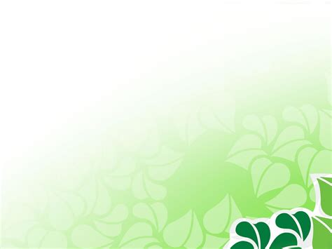 green vector flower  powerpoint flower  graphic