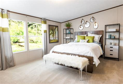 model home master bedroom pictures trumh ali thrill 3 bed 2 bath wide mobile 19204 | Ali THRILL Master Bedroom 2