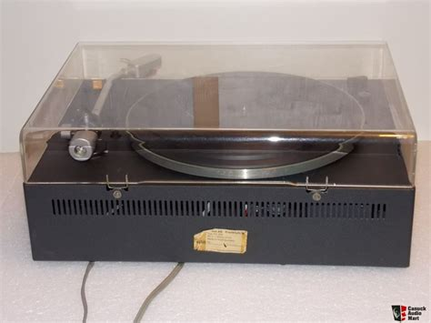 braun ps 500 braun ps 500 turntable dieter rams turntable great working and cosmetic condition photo