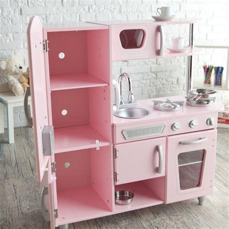 kidkraft vintage kitchen pink kidkraft vintage kitchen 53179 pink ebay