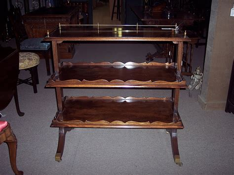 English And French Etagere For Sale
