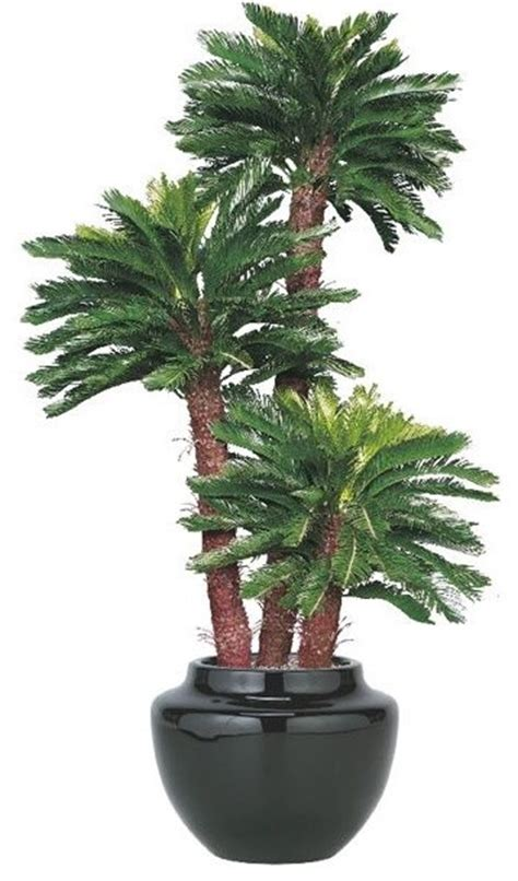 artificial outdoor king sago palm tree artificial flowers
