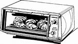 Clipart Clip Microwave Oven Toaster Cliparts Ovens Library Clipartbarn Related sketch template