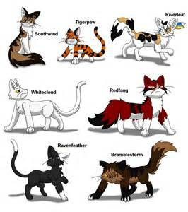 cats characters all warrior cats characters pictures to pin on