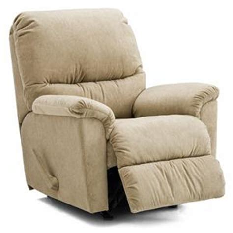 palliser grady casual rocker recliner with bustle back