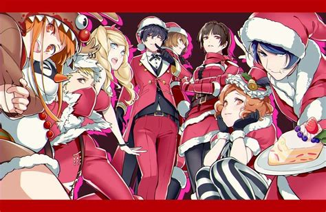 merry christmas persona  persona  anime persona