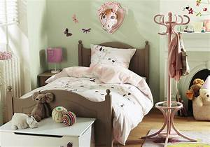 Contemporary kids bedroom installed on wooden floor at
