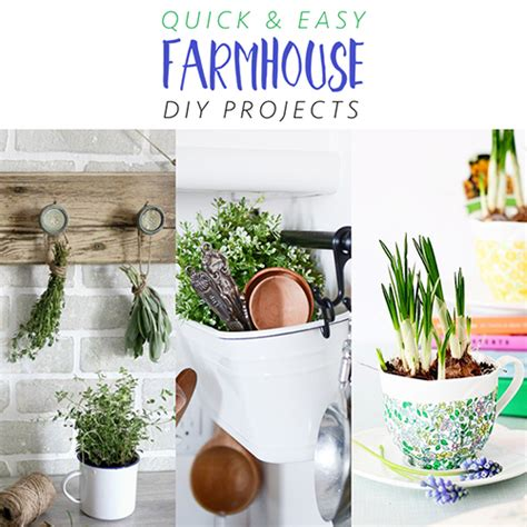 quick  easy farmhouse diy projects  cottage market