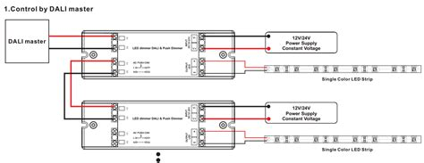 Channel Master Wiring Diagram by 1 Channel Constant Voltage Dali Dimmer Push Dim Sr 2303