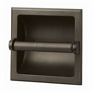 shop design house millbridge oil rubbed bronze recessed With placement of toilet paper holders in bathrooms