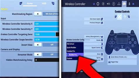 fortnite console settings psxbox  season
