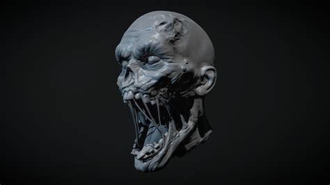 Zombie Head 1 - Buy Royalty Free 3D model by ZStuff ...