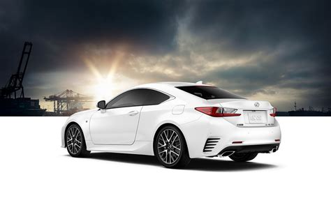 lexus rc luxury coupe specifications lexuscom