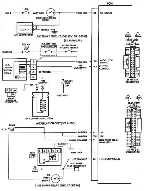 1990 Chevy K5 Blazer Radio Wiring Diagram by Tbi 350 Installation Land Cruiser Tech From Ih8mud