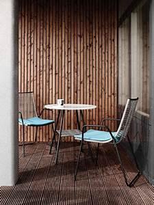 Petit Salon De Jardin Pour Balcon Pas Cher : salon de jardin en osier gris pieds aluminium boconcept ~ Teatrodelosmanantiales.com Idées de Décoration