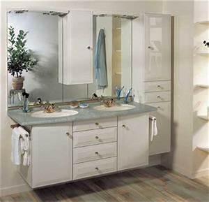 bloc miroir produits meubles de salle de bains With bloc miroir salle de bain