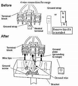 range outlet receptical wiring pics electrical page With wiring 4 wire dryer cord 3 prong dryer plug wiring diagram how to wire