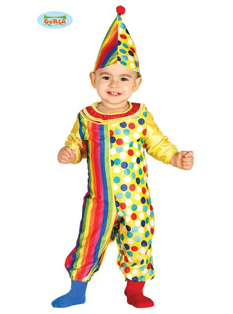 lovely clown costume  babies express delivery funidelia