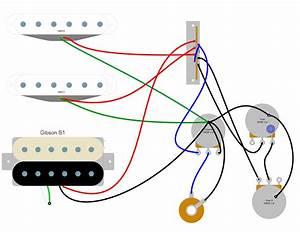 Gibson 61 Wiring Diagram  U2013 Humbucker Soup