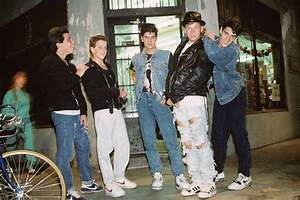 Boy Band New Kids On The Block Is Collaborating On Shoes