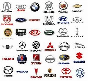 Car Symbols And Names List