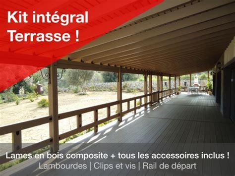 kit terrasse bois kit pr 234 t 224 installer terrasse bois composite jardin composite
