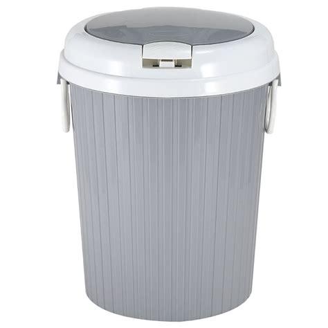 portable trash can garbage bin swing lid home bathroom kitchen waste basket ebay