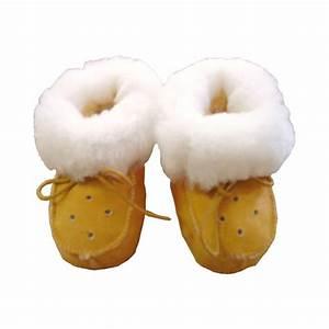 Peau De Mouton : chaussons mouton pour bebe avec lacets ~ Teatrodelosmanantiales.com Idées de Décoration