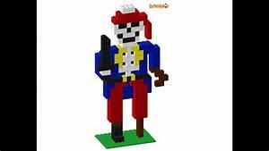 Pirate Skeleton Lego Instructions