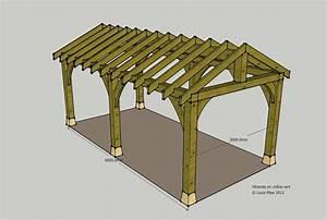 Woodwork Wooden Carport Planning Permission PDF Plans