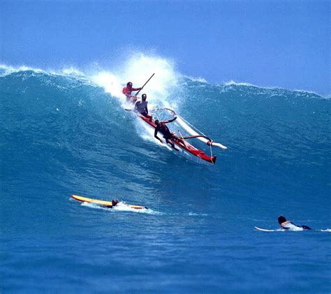 Canoes Surf by Legendary Surfer Fred Hemmings Surfing Types