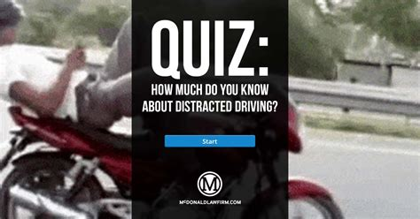 Quiz How Much Do You Know About Distracted Driving?