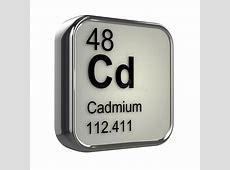 3d Cadmium element stock illustration Illustration of