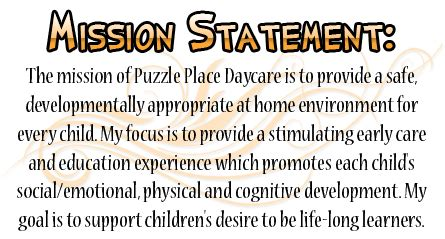 puzzle place daycare welcome 520 | missionstatement