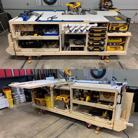 workbench mobile project center inspired  dewalt